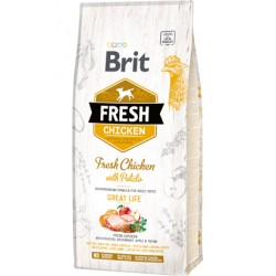 Brit Fresh Dog Adult Great Life with Chicken & Potato