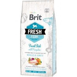 Brit Fresh Dog Adult Large Breed with Fish & Pumpkin