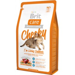 Brit Care Cat Cheeky Outdoor - High Venison