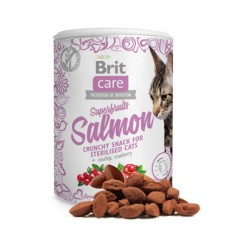 Brit Care Cat Snack Superfruits Salmon - 100 g