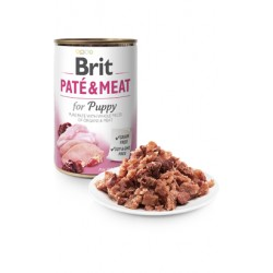 Brit Care Dog Paté & Meat for Puppy - Wet (Lata)