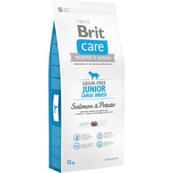 Brit Care Grain-free Dog Junior Large Breed - Salmon & Potato