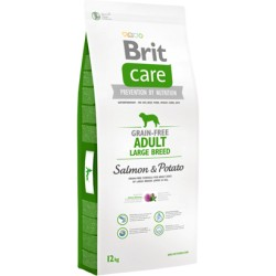 Brit Care Grain-free Dog Adult Large Breed - Salmon & Potato
